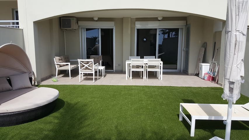 PALM MAR SAN REMO TRES BEL APPARTEMENT AVEC JARDIN - Palm-Mar - Apartmen