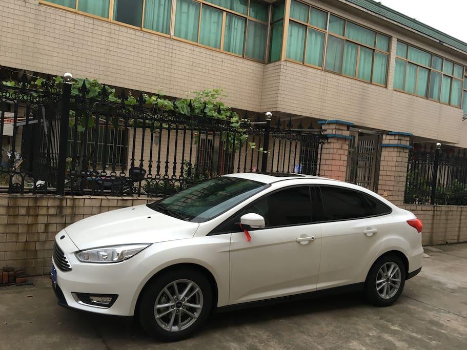 买新车车咯~ My new car, we can pick you up if need.