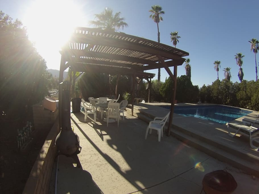 Pool area available for guests  use, weather permitting