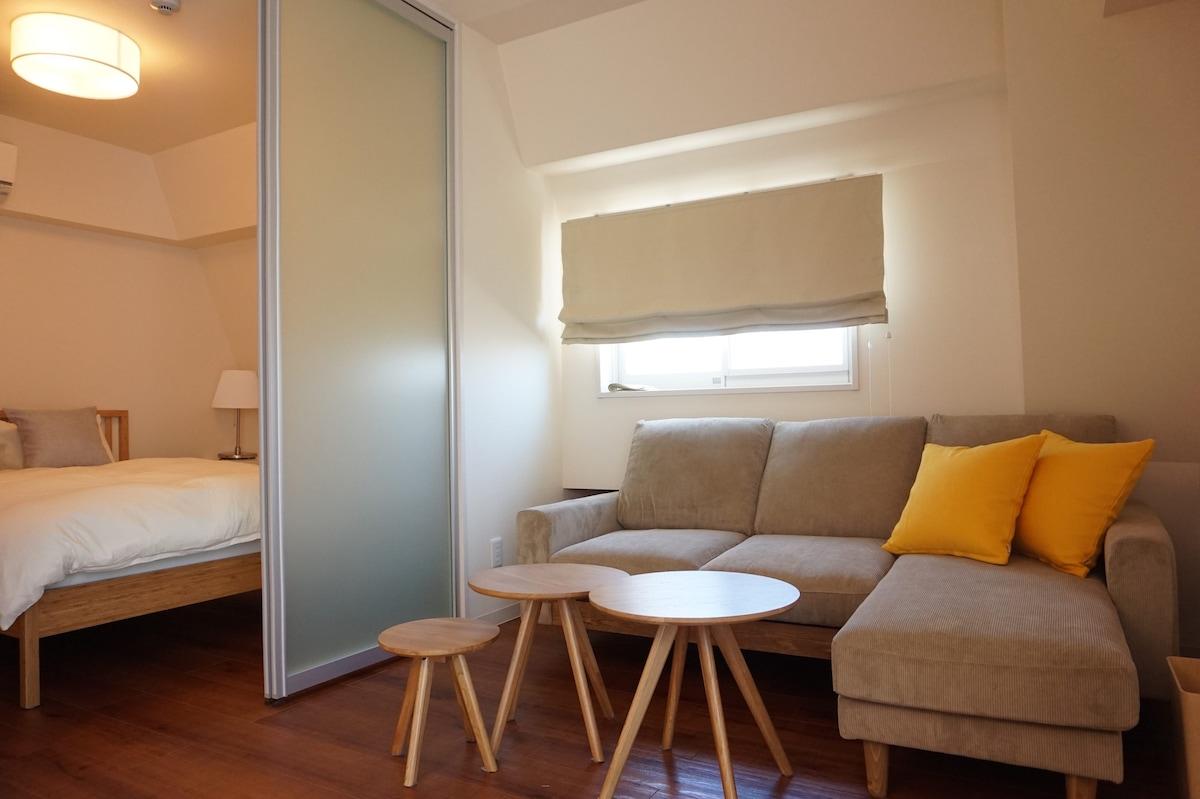 江ノ島・鎌倉観光に最適 ワンチャンも泊まれるビーチが目の前のホテル