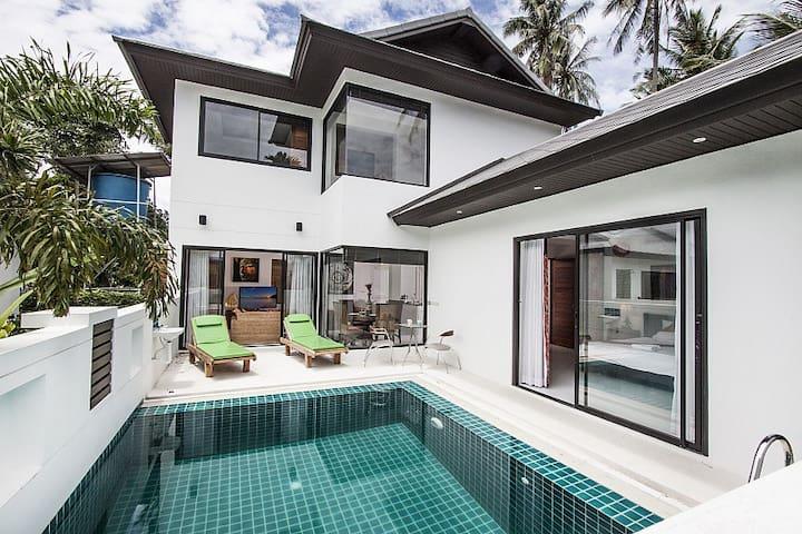 3 Bedroom Villa 11 - walk to Ban Tai beach