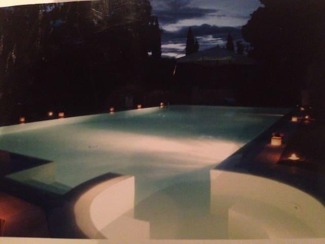 Villa con piscina in Franciacorta - Cazzago San Martino - Casa de camp