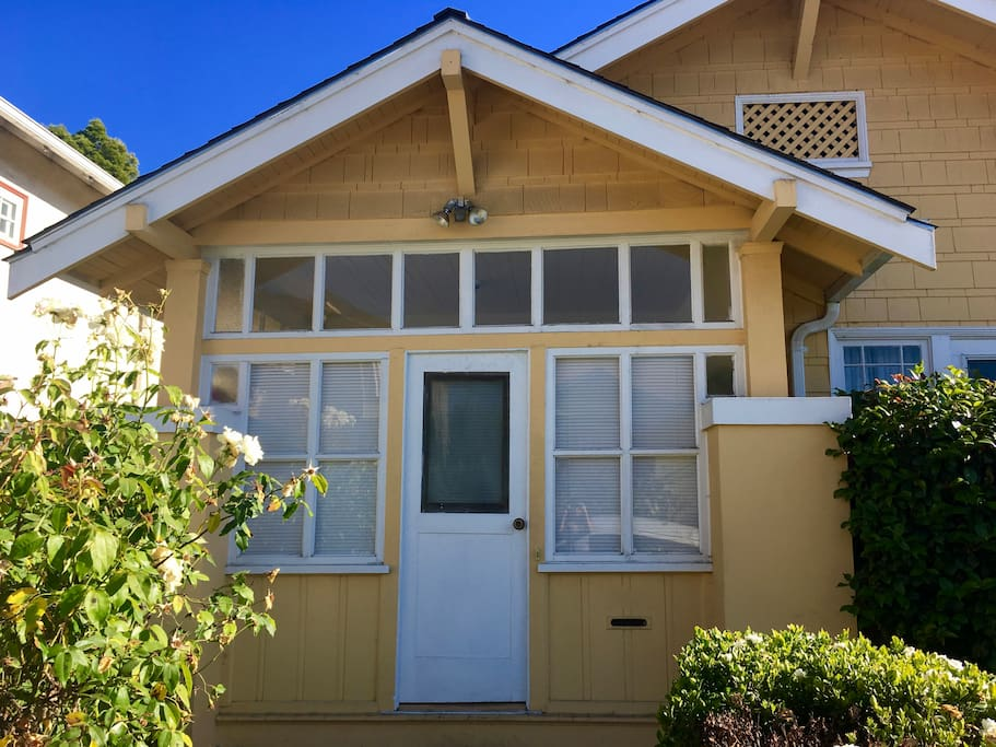 Our bright and sunny home in the Fruitvale