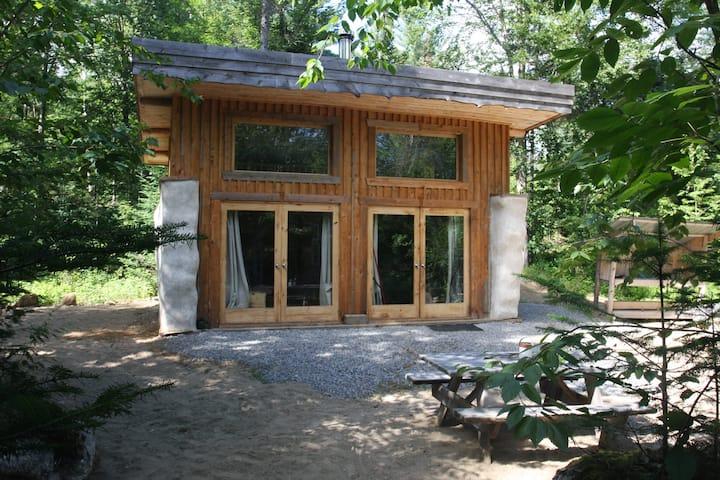 Straw Bale Cabin at Terra Perma