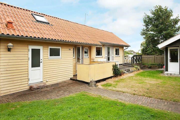 Casa de vacaciones maravillosa en Juelsminde con terraza