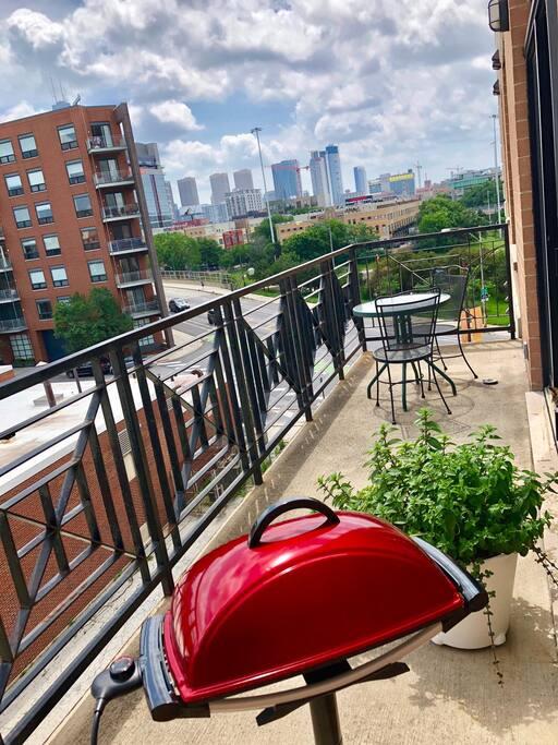 Balcony - daytime