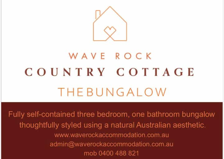 The Bungalow - Wave Rock Country Cottage