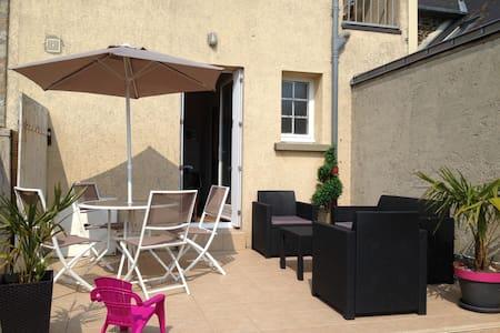Maison face à la mer (baie du Mont-Saint-Michel) - Saint-Benoît-des-Ondes - 独立屋