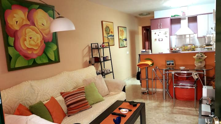 Apartamento cerca de la playa Torre de Benagalbon