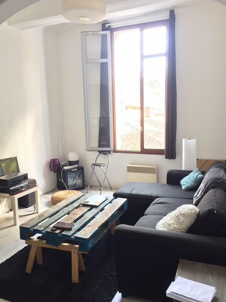 Appartement spacieux dans le centre d'Aix