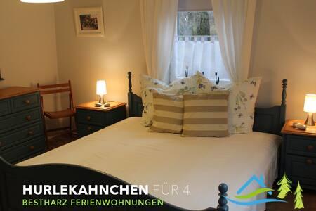 Hurlekahnchen für 5, 4 Sterne - Bad Harzburg - Apartemen