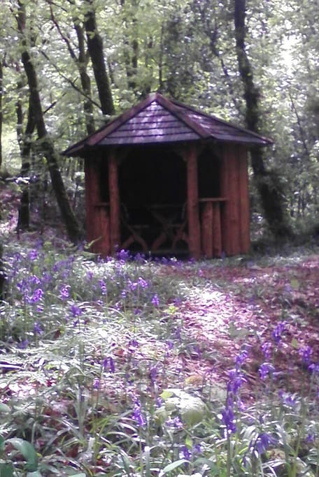 Woodland Summer House.
