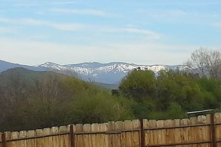 Private Room with Snow Capped Sierra Nevada View. - Porterville - Haus