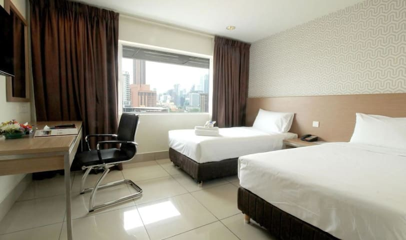Chic Apartment Studio @ KL City l 100 Mbps WIFI