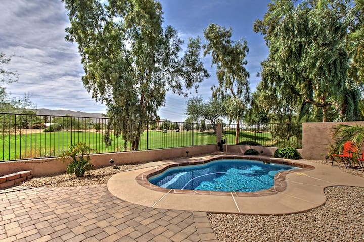 Zen 3BR Phoenix House on Golf Course w/Private Pool