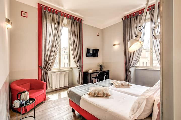 Via Daniele Manin 69, stanza privata all comforts