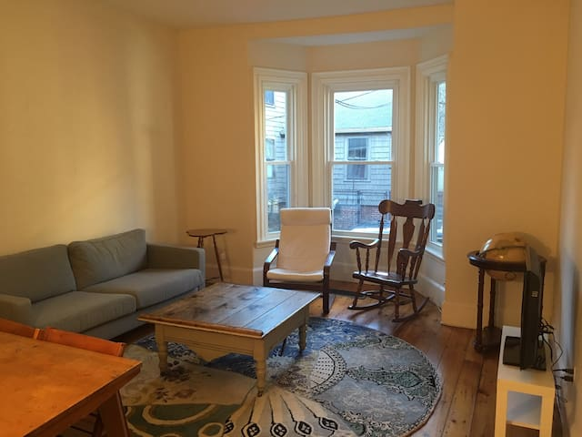Room in two bedroom condo near Harvard and Central