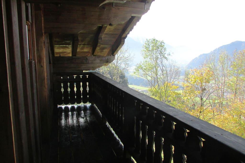 balcony to south - Hohe Tauern