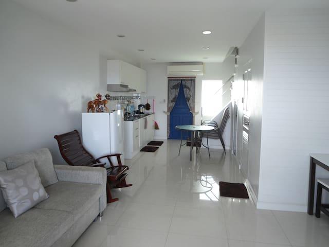 beachfront house in Prachuap bay