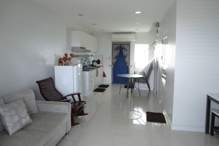 beachfront house in Prachuap bay