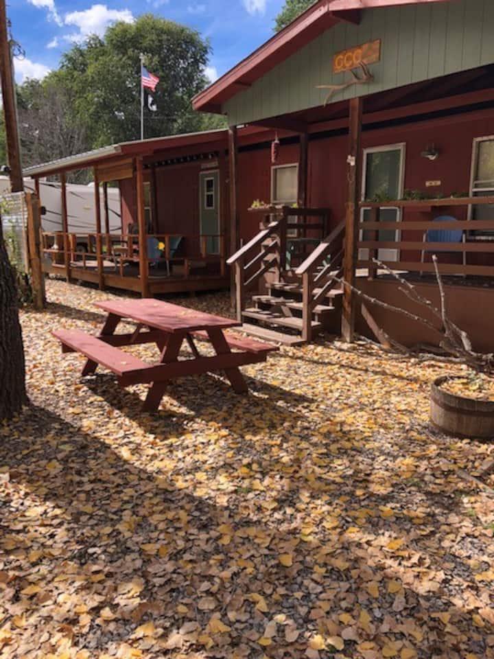 Camp @ Cloudcroft Family Cabin