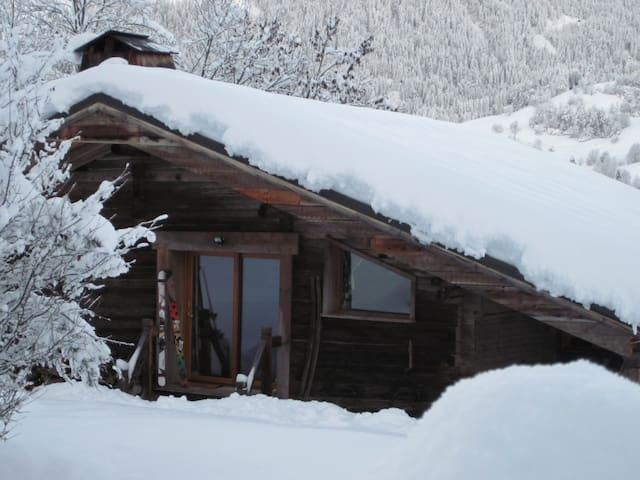 Chalet typique sur les pistes de ski - Praz-sur-Arly - Chalé