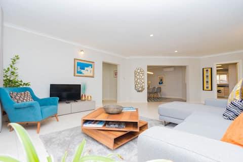 Stijlvol en ruim appartement op geweldige locatie