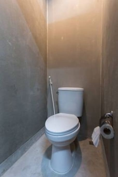 Toilet/Shower room shared