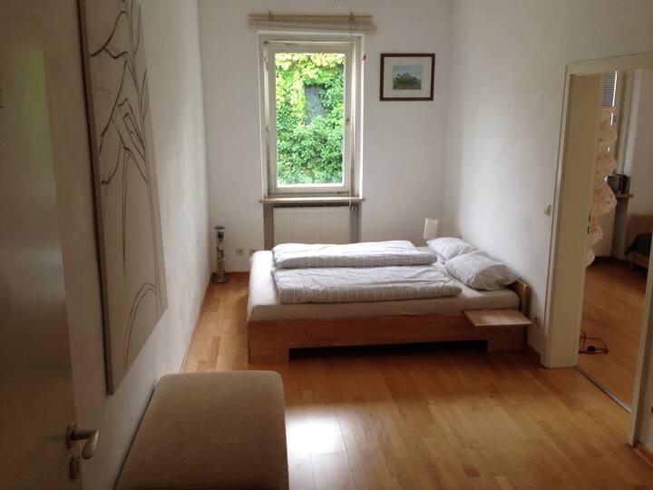 Cozy and quiet City Apartment with Balcony