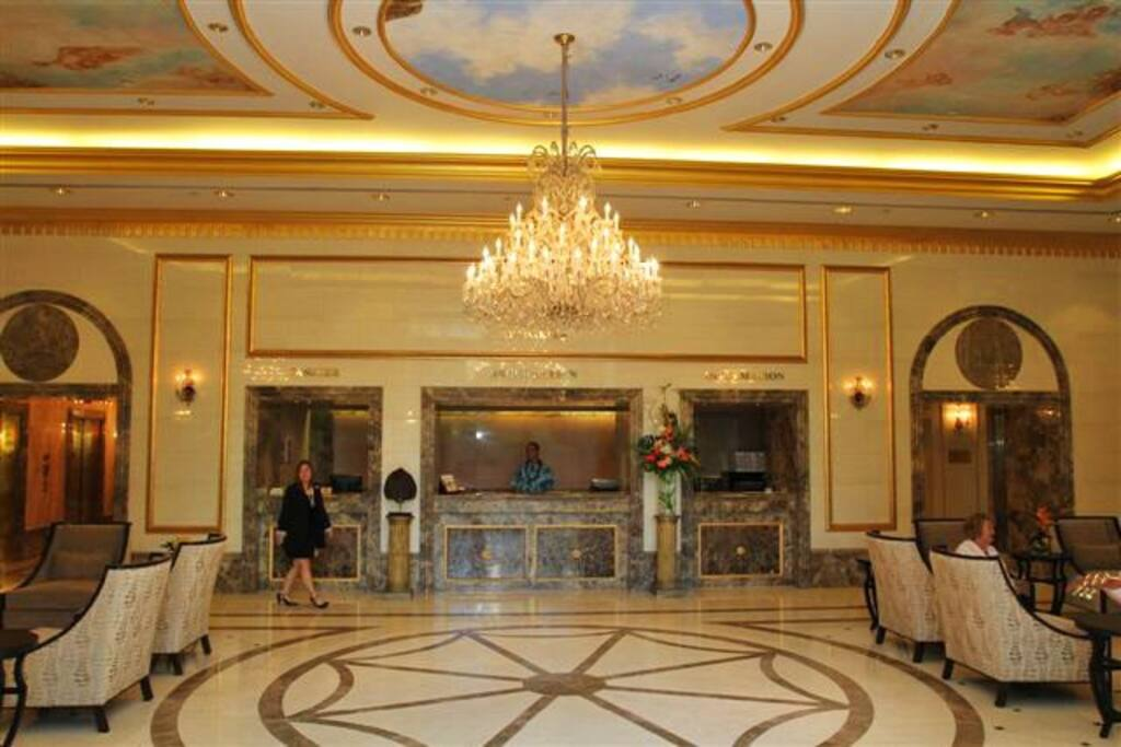 Royal Garden main lobby