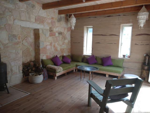 Natural House edge of forest & desert