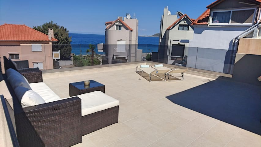 Villa Merrydale with private pool & ocean view - Ialysos - 別荘