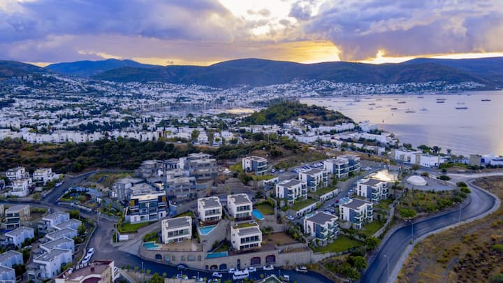 A Jewel in Bodrum, close to the Marina and beach