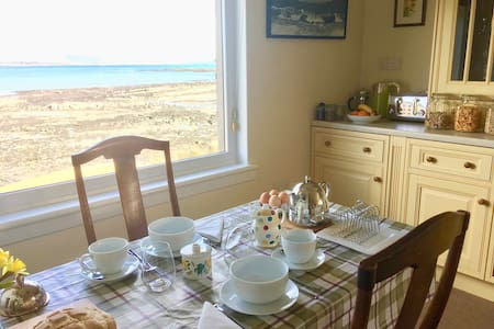 Claigan Bed and Breakfast, Isle of Skye, Scotland.