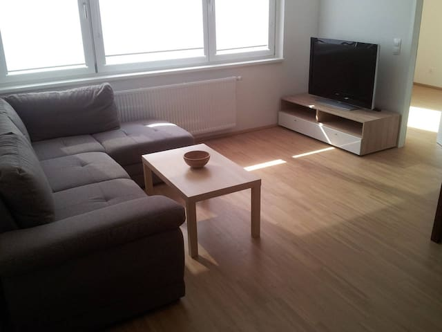 Quiet and bright room in new apartment. - Vienna - Appartamento