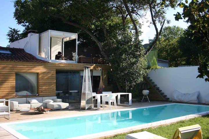 Casa da Granja natureza  paraíso piscina jardim