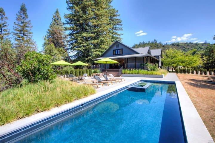 Calistoga Modern Luxury Ranch - Calistoga - Dom wakacyjny