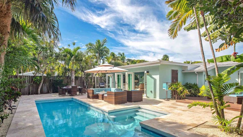 **BIRD of PARADISE** Elegant Home & Pool + LAST KEY SERVICES…