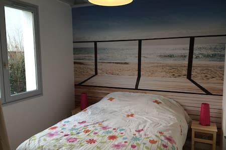 Chambre Zen - proche mer - Douvres-la-Délivrande - Haus