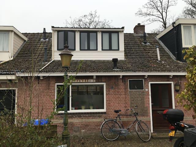 Leuke arbeiderswoning, dichtbij Leeuwarden