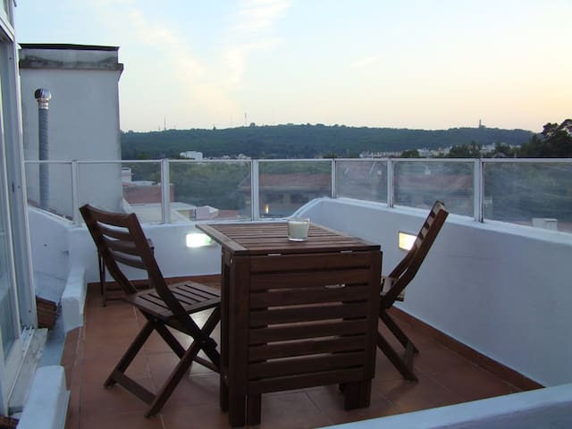 Central, near Zoo 4 rooms flat w/ great terrace - Lisboa - Appartement