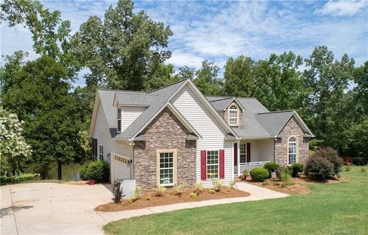 Home in Rock Hill.  Enjoy the View of Private Pond