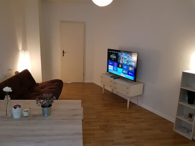 2 room apartment (60m²) near city and trade fair