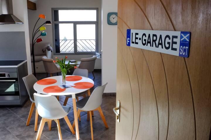 """""""Le Garage"""" appart hôtel 4* Petit déjeuner Compris"""