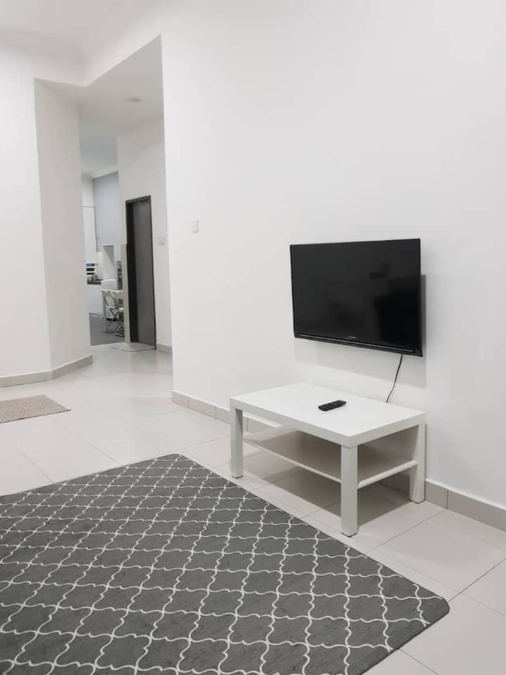 Modern Minimalist Netflix Guest House  in Kerteh 2
