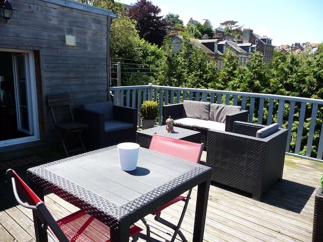 Cosy duplex 60m2 avec terrasse 18m2 vue imprenable