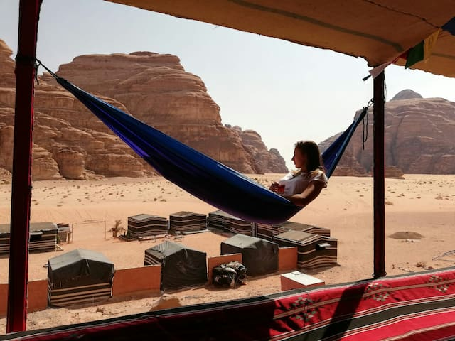 Martian Camp 2 in Wadi Rum