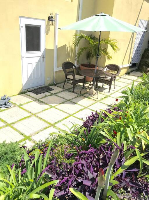 Your garden patio