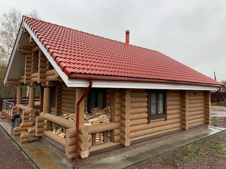 """Загородный гостевой дом с баней на дровах """"SNHAUS"""""""
