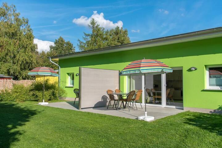 Bungis Ferienhäuser am Grimnitzsee ***Karree Haus 7